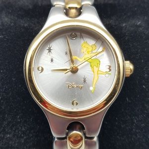 Disney X Seiko Tinker Bell Two-Tone SIlver Watch